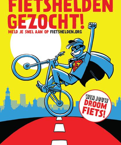 Amsterdamkrijgt eenJunior Fietsburgemeester!