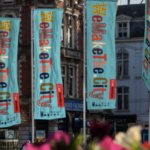 Amsterdam Marketing partner van WeMakeThe.City